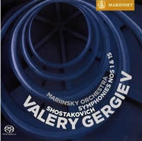 Cover of Mariinsky MAR 0502
